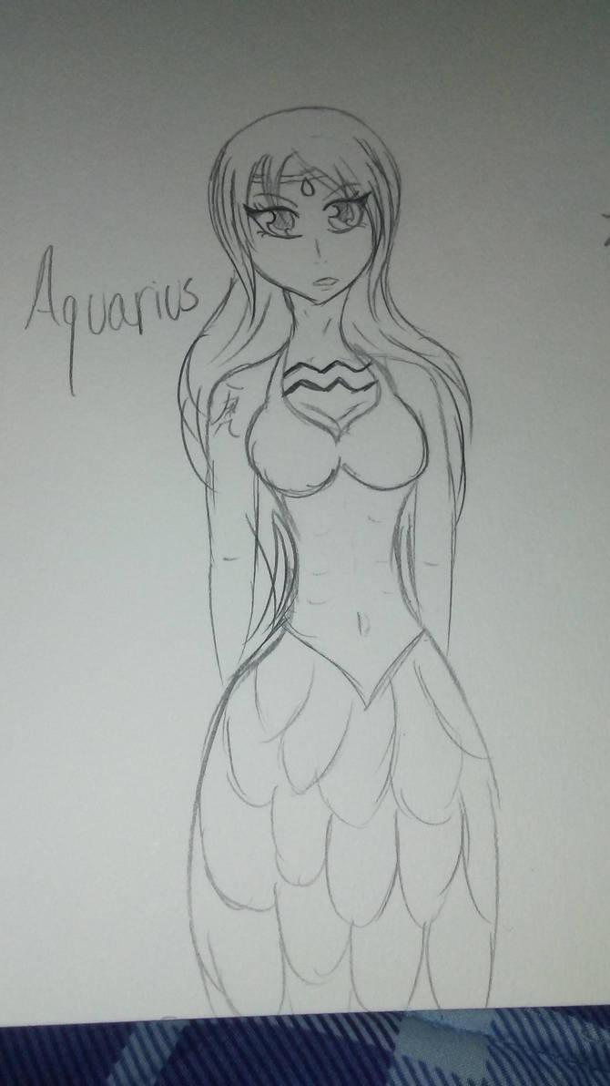 Aquarius by AlyHisanaKurosaki16