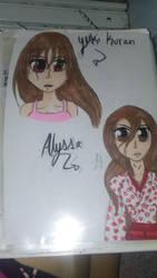 Alyssa and Yuki by AlyHisanaKurosaki16