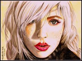 The Face by Jenny-artascending