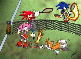 Sonic Battle Tennis by 2PlayerWins