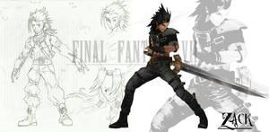 Final Fantasy EX - Binefar - Zack by 2PlayerWins