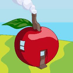 Apple-house by anatao