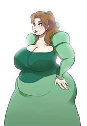 fat belle by TauntSeven1