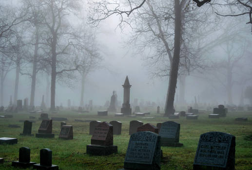 Angel Cemetery Stock by redwolf518stock