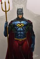 Maximus JLA fussion fanart by 2d-artist