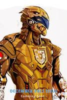 Golden Garuda Rises by 2d-artist