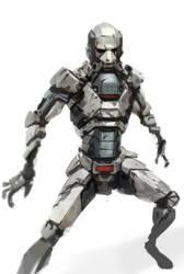 Robot Mbaret-mbaret by 2d-artist