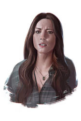 SKYE from SHIELD marvel agents by 2d-artist