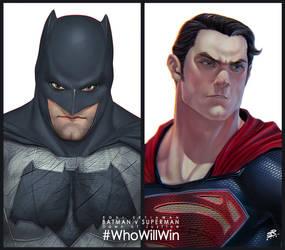 Batman v Superman-Dawn of Justice by 2d-artist