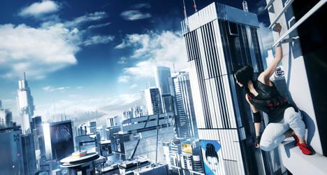 Mirror's Edge 2 Teaser Trailer Shot by l4dplayer