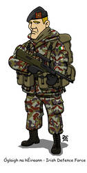 Irish Army Infantry by darthpandanl