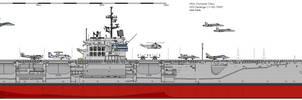 CV-60 Saratoga by darthpandanl