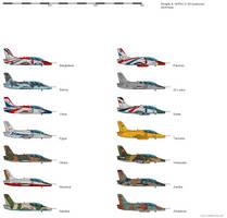 Hongdu JL-8 - Operators by darthpandanl