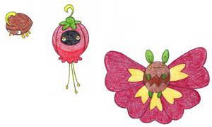 flower moth OLD by FrozenFeather