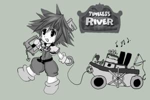 Timeless river sora by ShadeHellsing