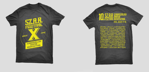 SZARFESZT2014 festival t-shirt design by Northanger
