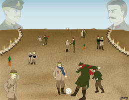 World War I: The Christmas Truce by Artworx88