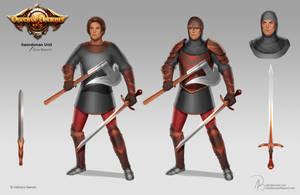 Order of Ancients - Swordsman by Aaraujo