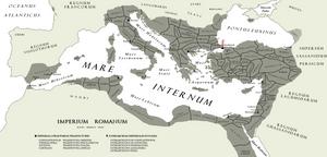 The [Eastern] Roman [Byzantine] Empire A.D. DLXV by Kuusinen