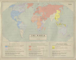 The World in 1958 -  Military-Economic Blocs by Kuusinen