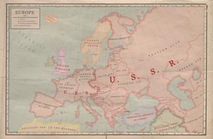Europe 1958 by Kuusinen