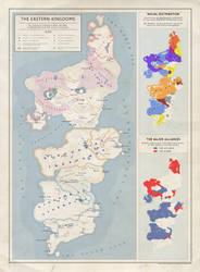 The Eastern Kingdoms - Political Map by Kuusinen on DeviantArt