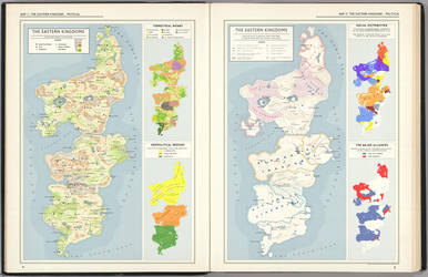Eastern Kingdom Maps - From the Atlas by Kuusinen