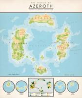 The World of Azeroth by Kuusinen
