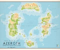 The World of Azeroth (3) by Kuusinen
