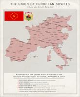 The Union of European Soviets Poster by Kuusinen
