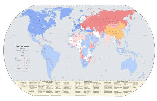 The World Between The Cold War Superpowers 1980 By Kuusinen On