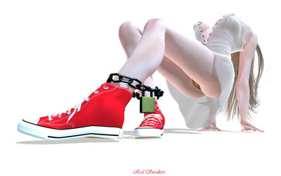 Red Sneakers by RGUS