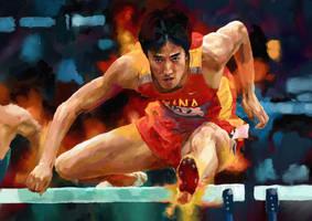 Liu Xiang by FeiGiap