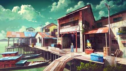 Fishing Village Schoolgirl 3.0 by FeiGiap