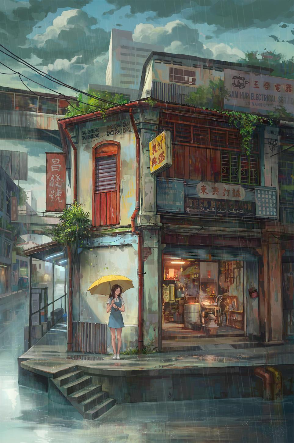 Rain by FeiGiap