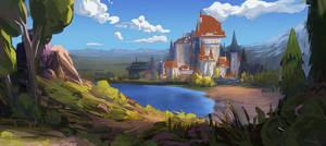 Castle by Gydw1n
