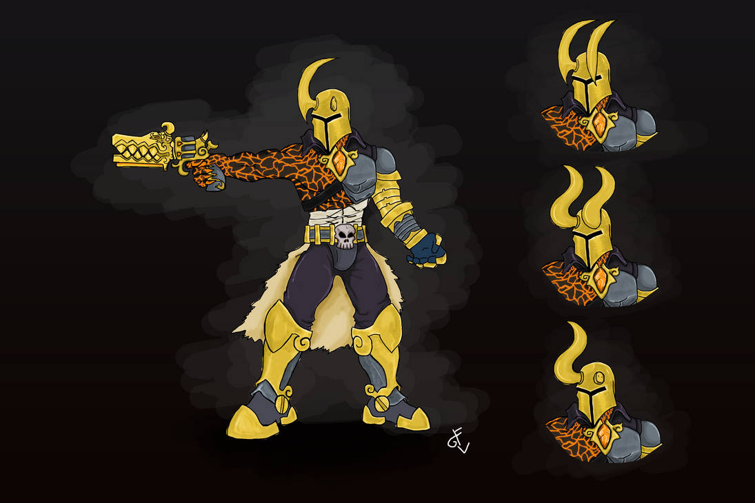 Androxus Skin Concept By Guiledevian On Deviantart
