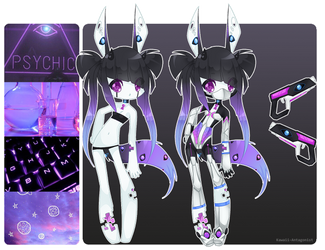 Cyber  Space - Aesthetic adopt #1 by kawaii-antagonist