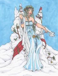Lady of Winter by nickyflamingo