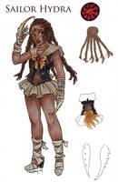 Sailor Hydra by nickyflamingo