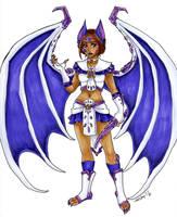 Mythical Sailor Sugilite Camazotz by nickyflamingo