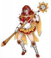 Sailor Sun for SilverPheonix-Dragon by nickyflamingo