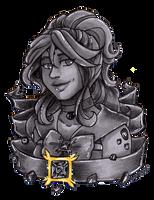 Crystal Portrait Galena by nickyflamingo