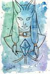 Galaxy Portrait Canis Minor by nickyflamingo