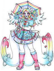 Rainbow Marshmallow Lucky Charm Kamitsune CLOSED by nickyflamingo