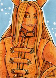ACEO Freyr by nickyflamingo