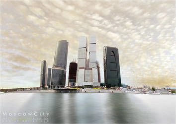 Moscow City by o9-design