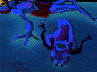 Umbicarrion - Monster #25 by SailorSealGarri
