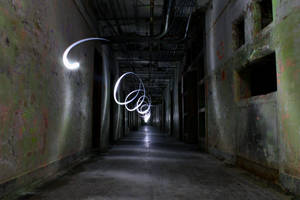 Asylum Hallway Playful Spirit by BTrerice