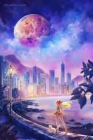 Sailor Venus by FalseDelusion